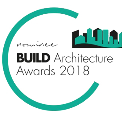The Build Architecture nominee 2018 seal